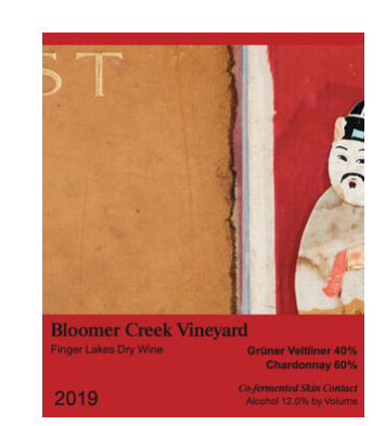 Bloomer Creek Gruner Veltliner-Chardonnay Skin Contact 2019