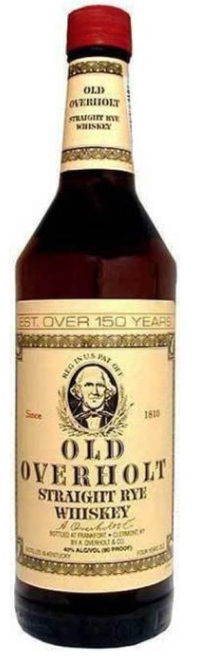 Old Overholt Straight Rye Whiskey 1L