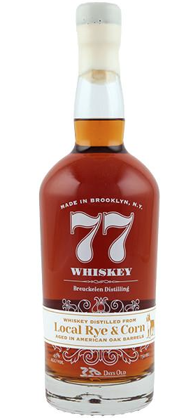 Breuckelen 77 Local Rye and Corn Whiskey