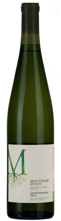 Montinore Gewürztraminer 2014, Willamette Valley, Oregon
