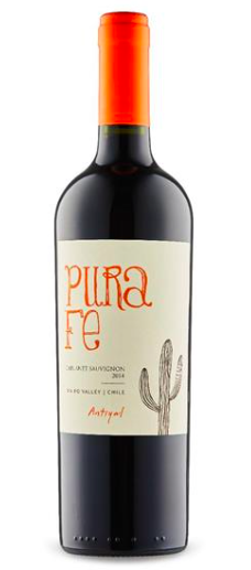 Antiyal 'Pura Fe' Cabernet Sauvignon 2015, Maipo Valley, Chile