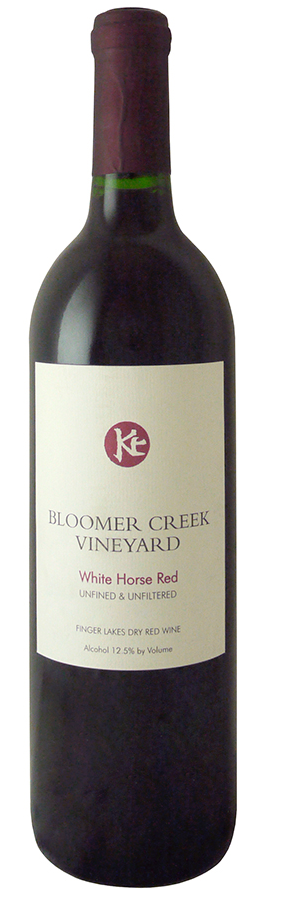 Bloomer Creek 'White Horse' Red 2014, Finger Lakes, New York