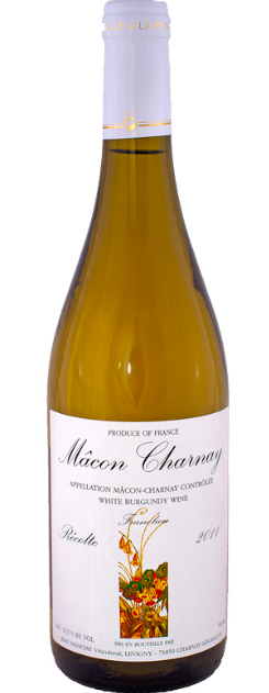 Jean Manciat Mâcon-Charnay 2018, Burgundy, France