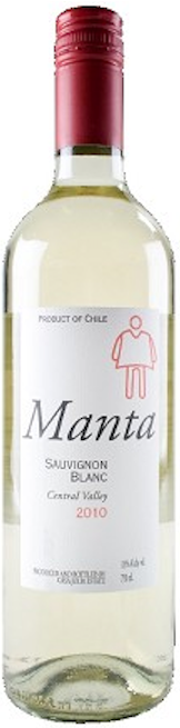 Casa Julia 'Manta' Sauvignon Blanc 2018, Maule Valley, Chile