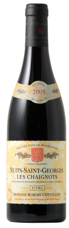 Robert Chevillon 'Nuits-Saint-Georges 1er Cru Les Chaignots' 2011, Burgundy, France
