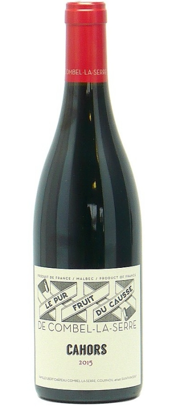 Combel La Serre 'Pur Fruit du Causse'  2015, Southwest, France