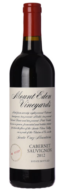 Domaine Eden Cabernet Sauvignon 2015, Santa Cruz Mountains, California