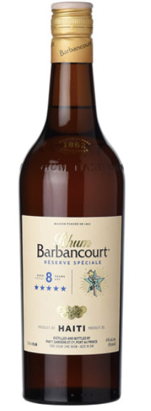 Rhum Barbancourt 5 Star 8yr Rum