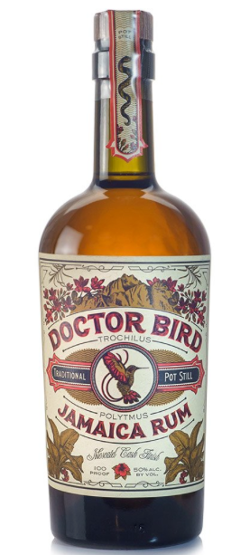 Two James 'Doctor Bird' Rum