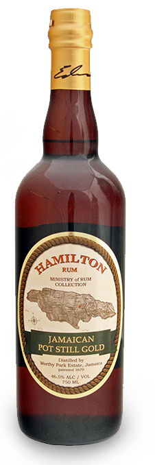 Hamilton Jamaican Pot Still Gold Rum