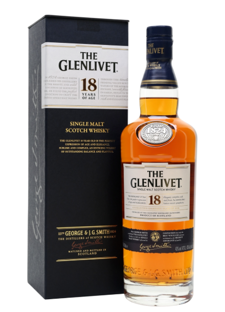 Glenlivet 18yr Single Malt Scotch