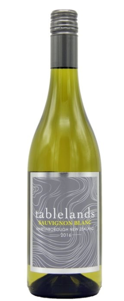 Tablelands Sauvignon Blanc 2017, Martinborough, New Zealand