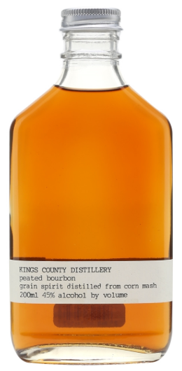 Kings County Distillery Peated Bourbon Whiskey 200ml