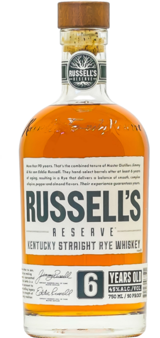 Russell's Reserve 6yr Straight Rye Whiskey