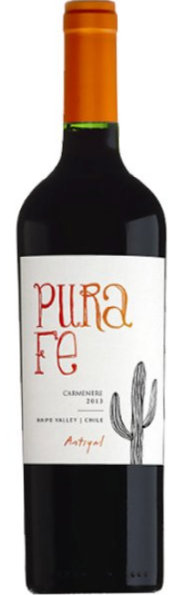 Antiyal 'Pura Fe' Carménère 2015, Maipo Valley, Chile