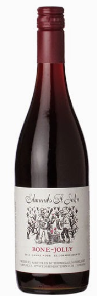 Edmunds St. John 'Bone Jolly' Gamay 2016, El Dorado County, California