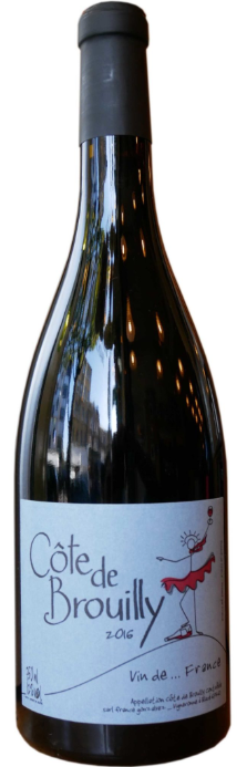 France Gonzalvez Côte de Brouilly 2015, Burgundy, France - Magnum