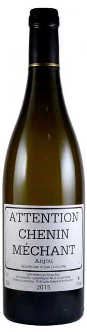 Nicolas Reau 'Attention Chenin Méchant' 2017,  Loire Valley, France
