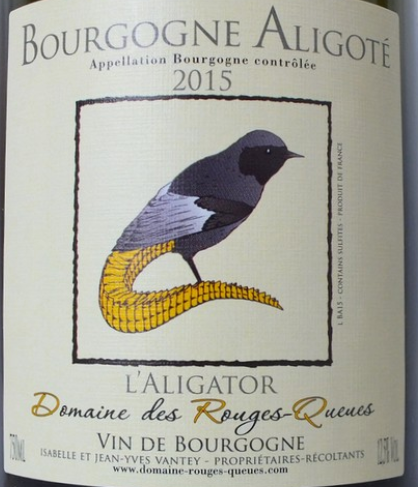 Domaine des Rouges-Queues 'L' Aligator' Aligoté 2106, Burgundy, France - Magnum