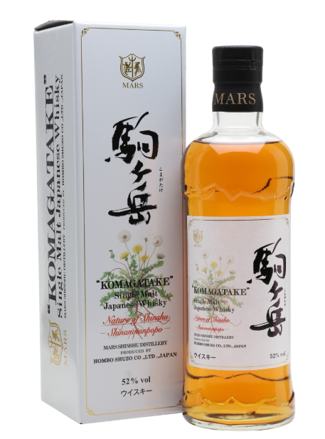Mars Shinshu 'Komagatake' Shinanotanpopo - Nature of Shinshu Japanese Single Malt Whisky