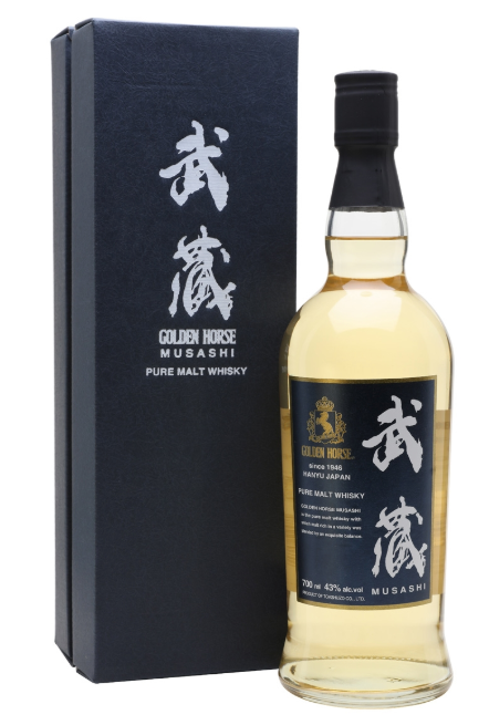 Golden Horse Musashi Pure Malt Japanese Whisky