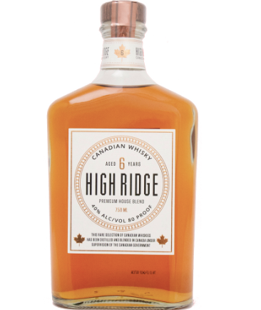 High Ridge 6yr Canadian Whisky