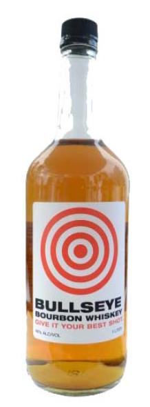 Bullseye Bourbon Whiskey - 1L