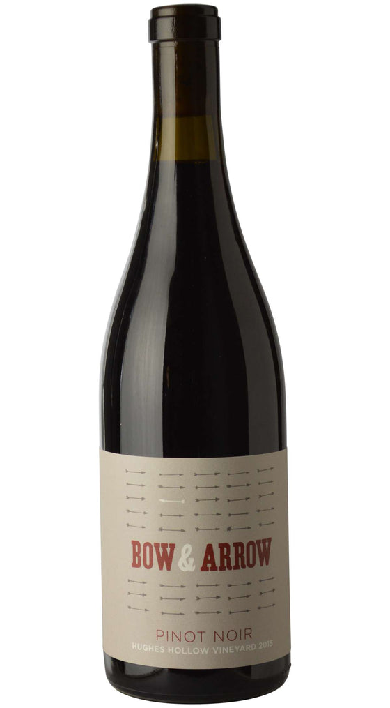 Bow & Arrow  'Hughes Hollow Vineyard'  Pinot Noir 2015, Willamette Valley, Oregon