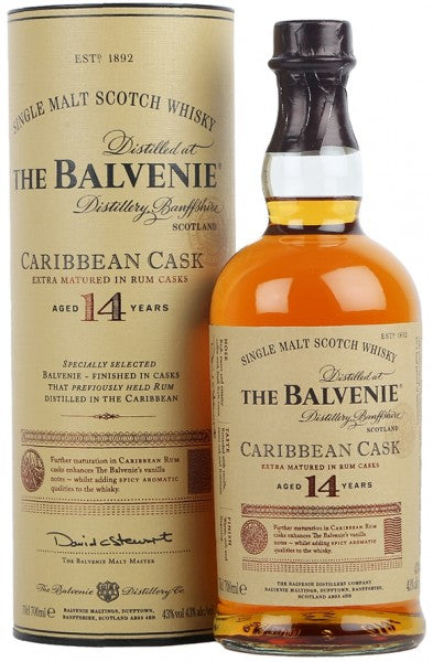 Balvenie 14yr 'Carribean Rum Cask' Single Malt Scotch