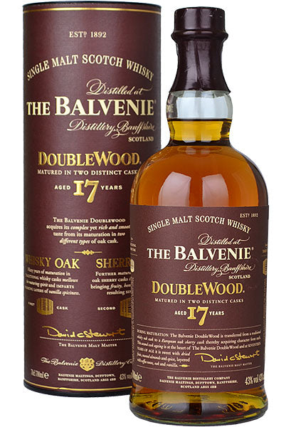 Balvenie 'DoubleWood' 17yr Single Malt Scotch