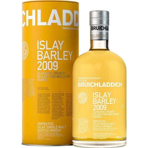 Bruichladdich 'Islay Barley' 2009 Single Malt Scotch Whisky