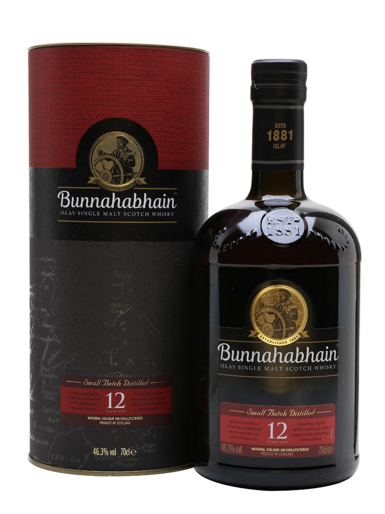Bunnahabhain 12yr Single Malt Scotch