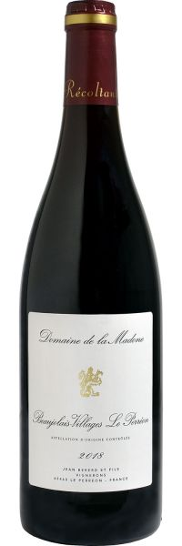 Domaine de la Madone 'Beaujolais-Villages Le Perréon' 2018, Burgundy, France
