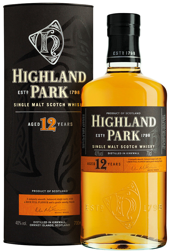 Highland Park 12yr Single Malt Scotch