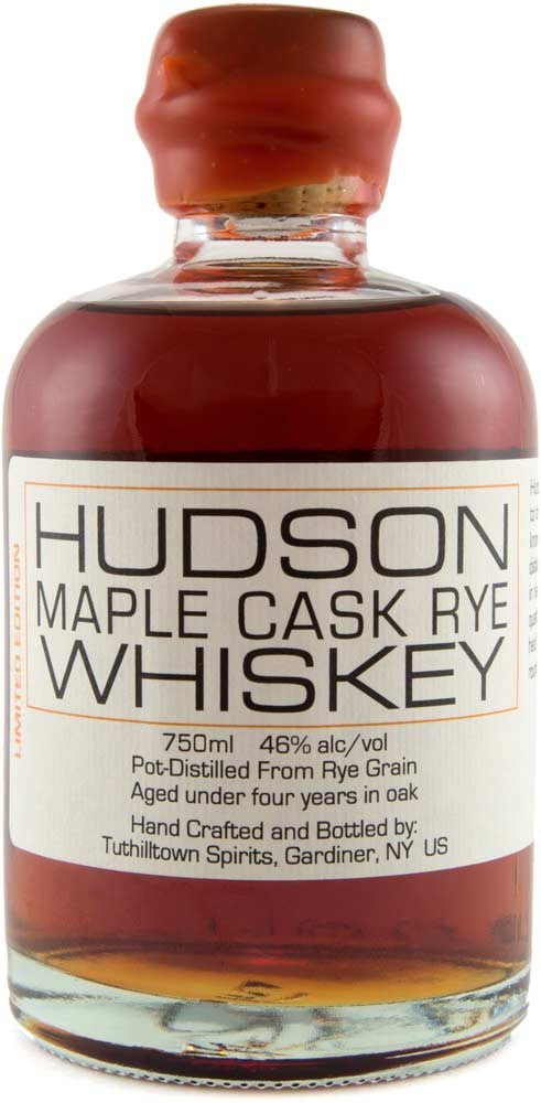 Tuthilltown Spirits 'Hudson Maple Cask Rye' Whiskey
