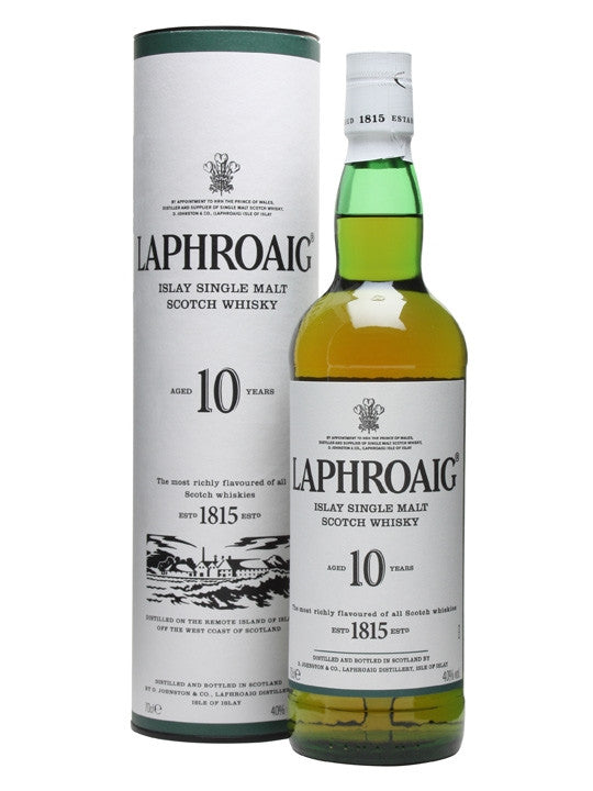 Laphroaig 10yr Single Malt Scotch