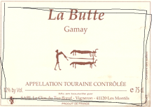 Clos du Tue-Boeuf 'La Butte' Gamay 2017, Loire Valley, France