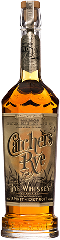 Two James Catcher's Rye Authentic Straight Whiskey