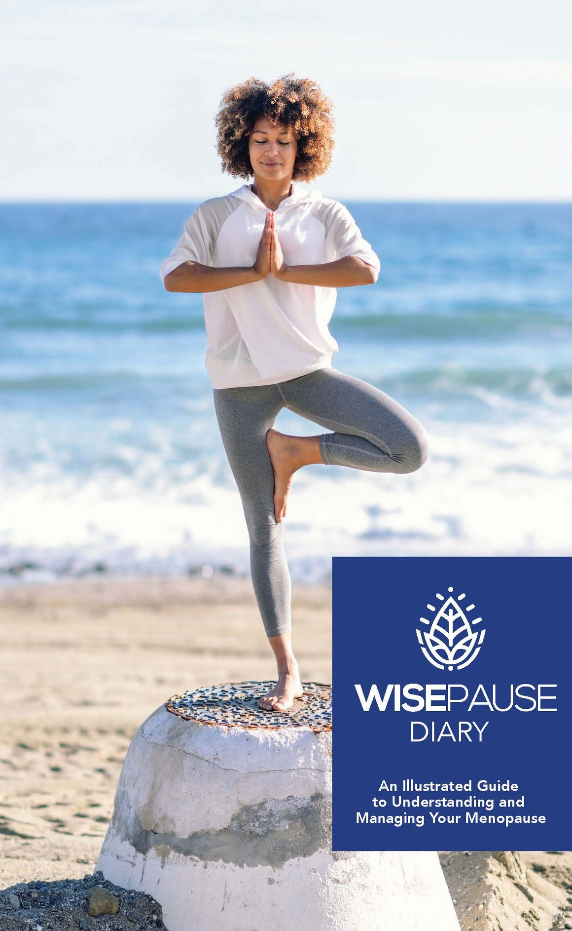 WisePause Diary: An Illustrated Guide to Understanding and Managing Your Menopause