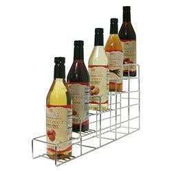 Coffee Flavor Syrup Racks