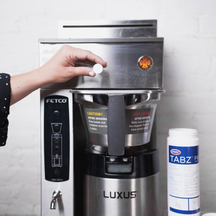 how to clean a coffee brewer