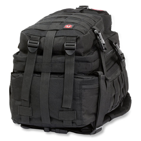 Orca Tactical 34L MOLLE Military Backpack Bug Out Bag, BLACK