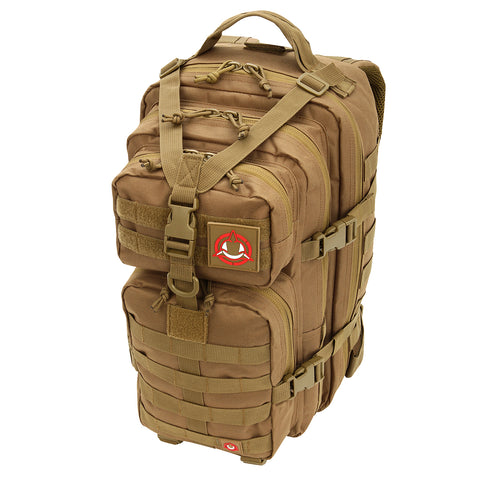 Orca Tactical 34L MOLLE Military Survival Backpack Rucksack Pack, COYOTE
