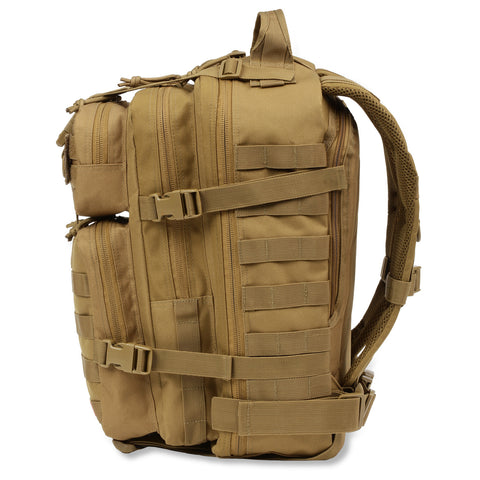 Orca Tactical 34L MOLLE Military Survival Backpack Rucksack Pack, KHAKI