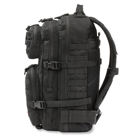 Orca Tactical 40L MOLLE Military Survival Backpack Rucksack Pack, BLACK