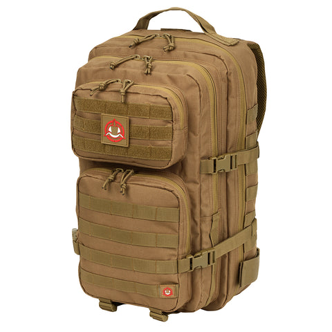 Orca Tactical 40L MOLLE Military Survival Backpack Rucksack Pack, COYOTE