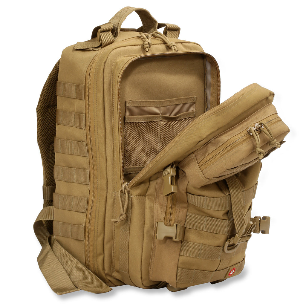 Orca Tactical 40l Molle Military Survival Backpack
