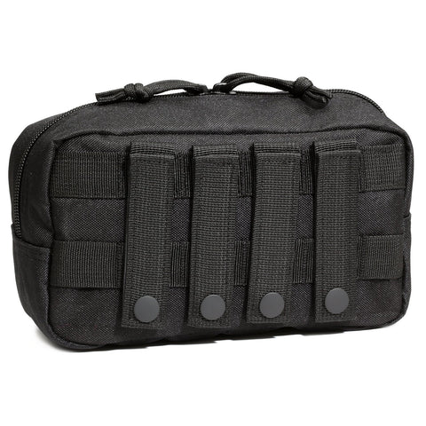 Orca Tactical MOLLE EDC Admin Utility Pouch - BLACK