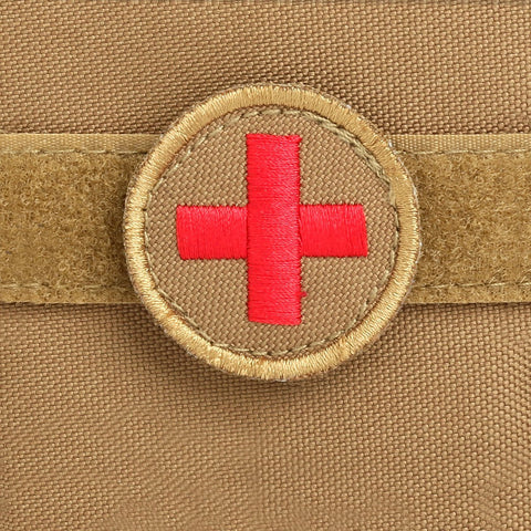 Orca Tactical MOLLE EMT Medical First Aid Pouch - RED