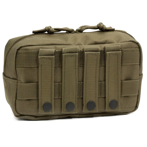 Orca Tactical MOLLE Compact EDC Admin Utility Pouch - OD GREEN